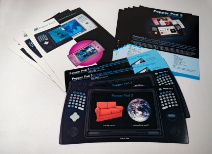 Pepper Pad - Marketing Materials