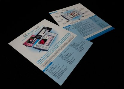 Pepper Pad - Spec Sheets